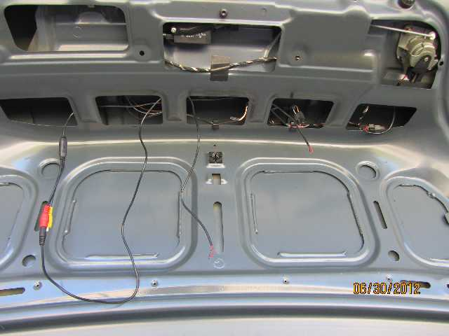 Install advice need for rear view camera e39 and lastly how do route the cable from the trunk into the body snaking it through the rubber grommet that routes all the cables between the trunk and the cheapraybanclubmaster Image collections